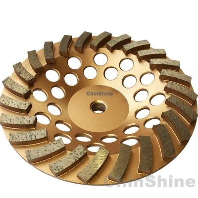 7 turbo diamond grinding cup wheel