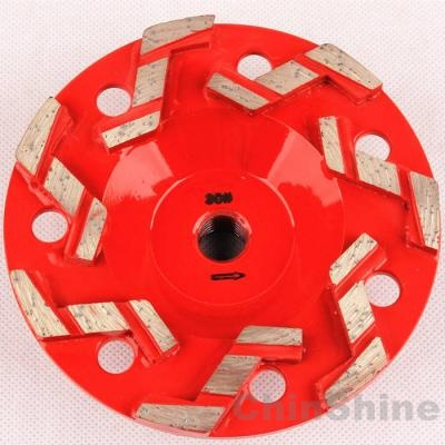 concrete diamond grinding cup wheels