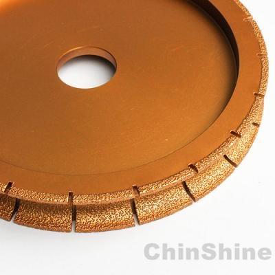 Vacuum Brazed Diamond profile discs